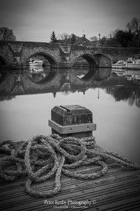 BM004 east farleigh bridge rope portrait