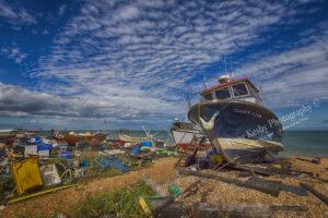 AK026 scruffy fishing scene deal web