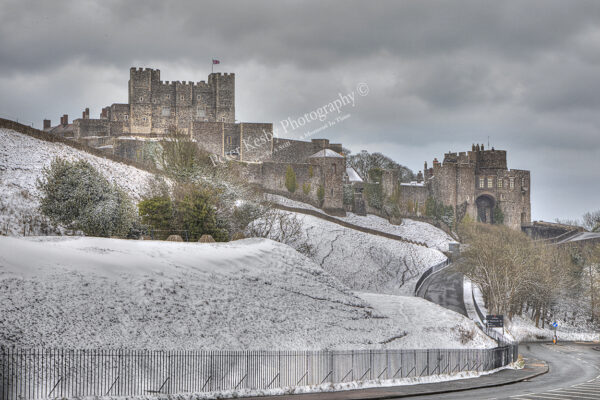 Dover Castle - A Winters Dream