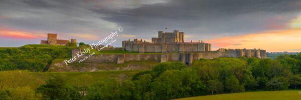 Dover Castle - Pleasing Subtle Sunset