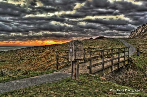 Samphire Hoe - Sunset #2