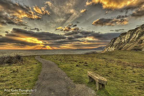 Samphire Hoe - Sunset #3