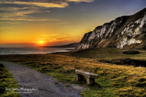 Samphire Hoe - Sunset #4
