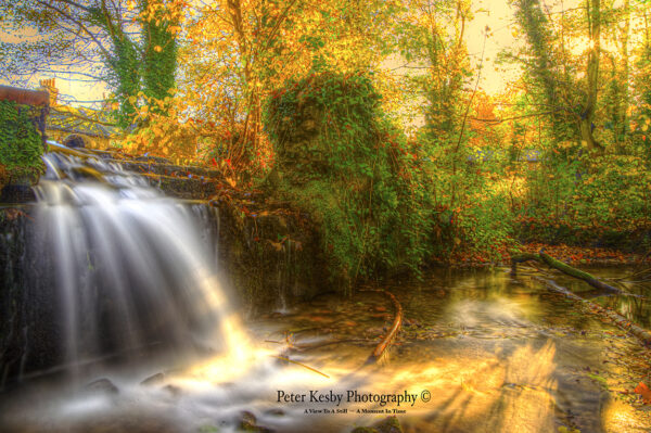 Kearsney Abbey - An Autumn Waterfall