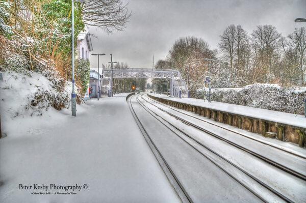 Kearsney Station - Snow