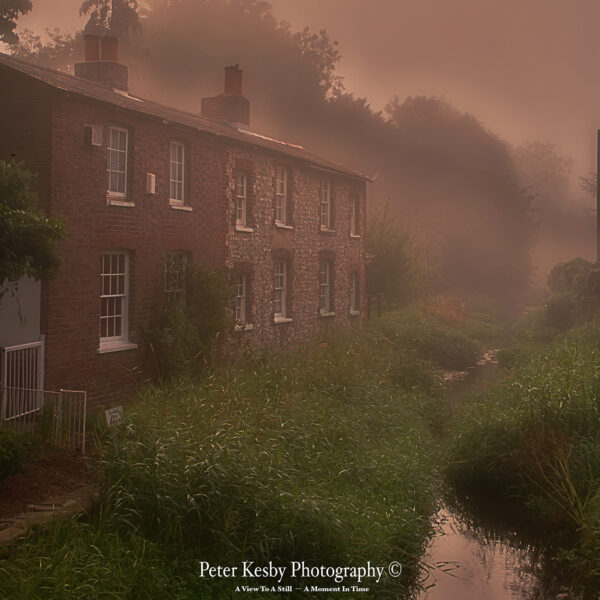 Old Cottages - Crabble Corn Mill