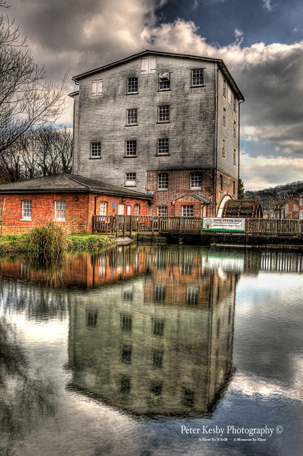 Crabble Corn Mill - Reflection
