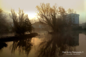 Crabble Corn Mill - Mist At Sunrise