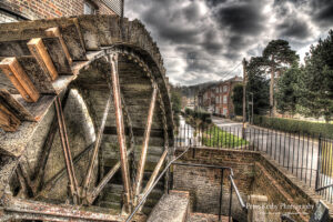 Crabble Corn Mill - Water Wheel