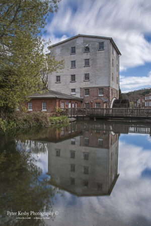 Crabble Corn Mill - Long Exposure - Reflection