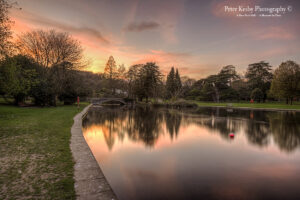 Kearsney Abbey - Sunset