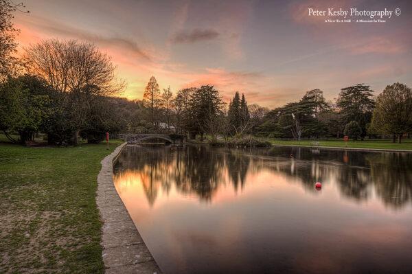 Kearsney Abbey - Sunset