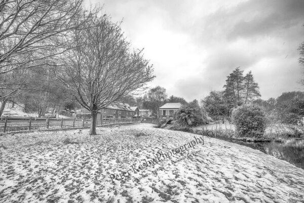 Russell Gardens - Snow - Winter Scene