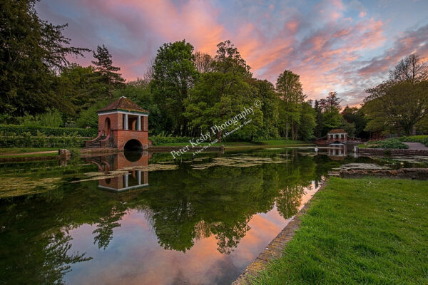 Beautiful Sunset At Russell Gardens