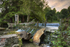 Kearsney Abbey - Waterfall #3