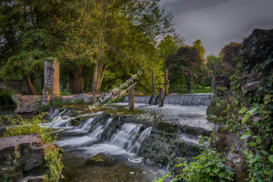 Kearsney Abbey - Waterfall #4