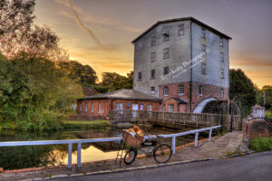 Crabble Corn Mill - Hovis Bike