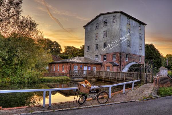 Crabble Corn Mill - Hovis Bike