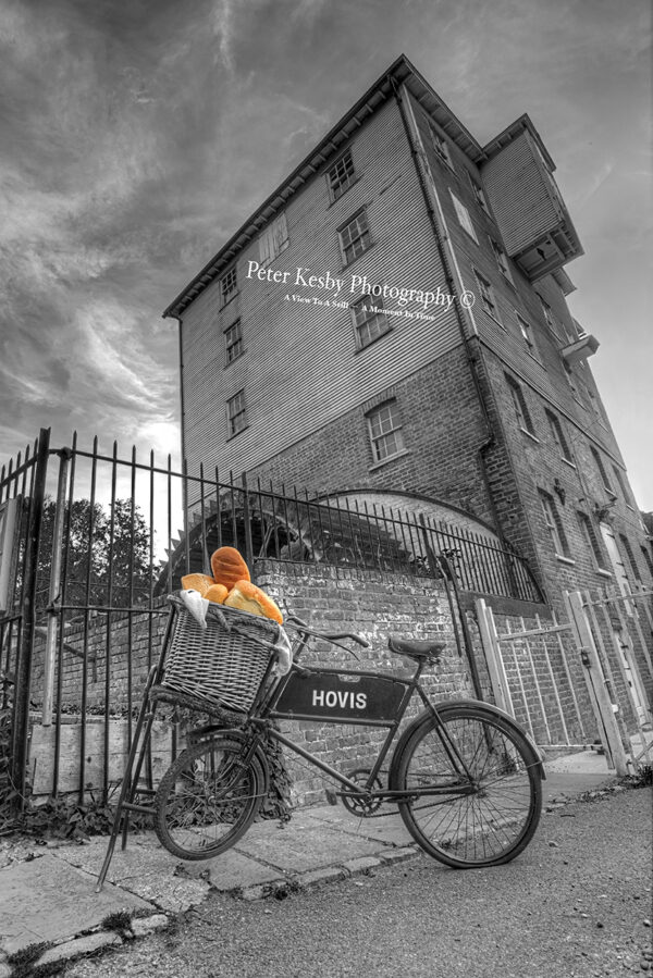 Crabble Corn Mill - Hovis Bike - Dash Of Colour