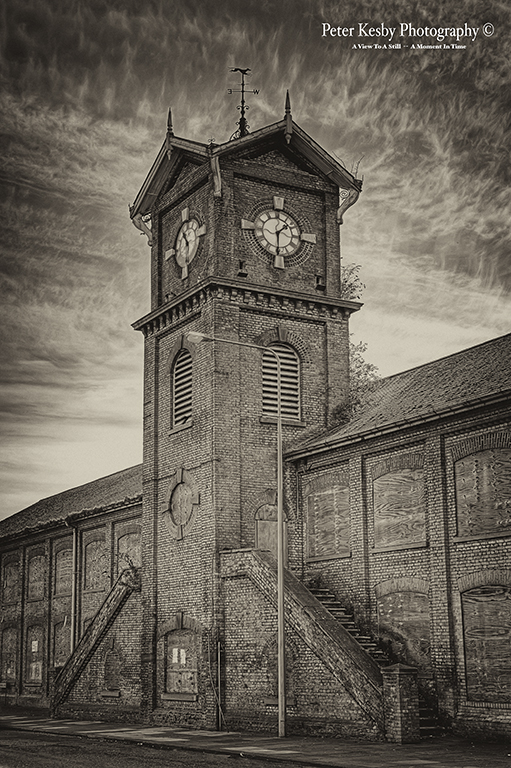 Old Paper Mill - Sepia