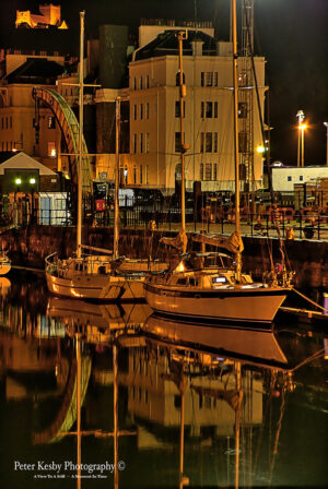 Wellington Dock - Harbour House - Night