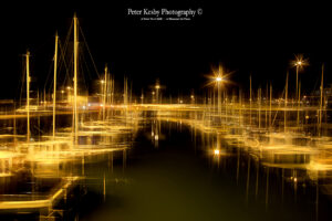 Granville Dock - Night - Artistic Blur