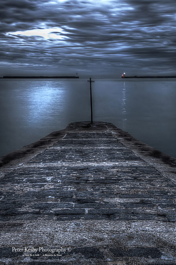 Dover Harbour - Jetty - Night
