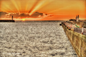 Prince Of Wales Pier - Sunrise - Rays