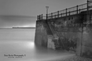 Jetty - Long Exposure - Mono