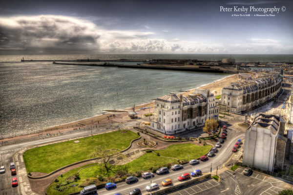 Dover Beach - Aerial View