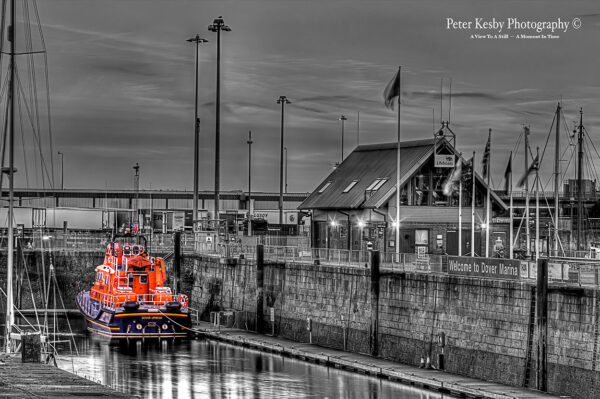 RNLI - Dover Lifeboat - Colour Popped