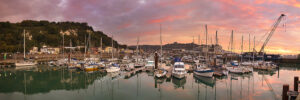 Wellington Dock - A Super Sunrise