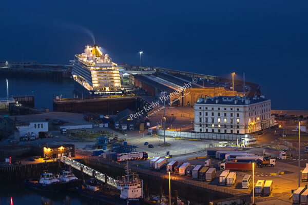 Western Docks - Dover By Night