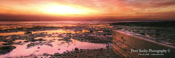 St Margarets Bay - Sunrise - Panoramic
