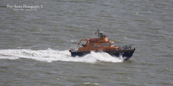 Dover Lifeboat viewed From White Cliffs