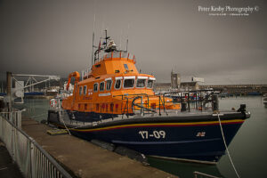 Dover Lifeboat Moored at Dumphead
