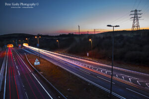 Roundhill Tunnels - Light Trails