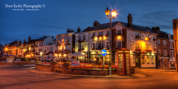 Deal Seafront - Dusk - Panoramic