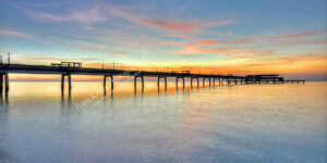 Deal Pier - Sunrise - Panoramic - #1