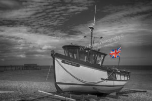 Deal Fishing Boat - Union Jack
