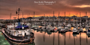 Ramsgate Harbour - Sunset - Panoramic