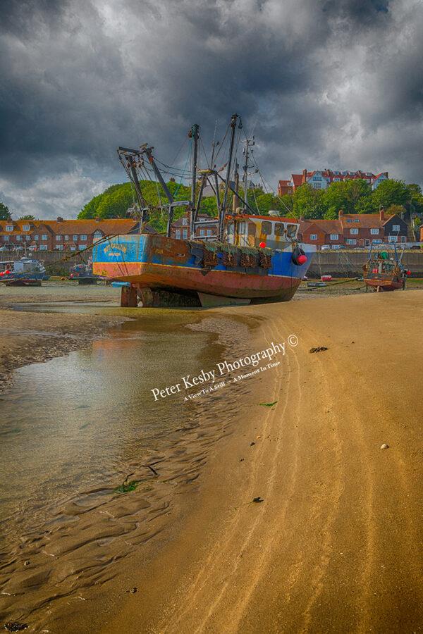 Folkestone Fishing Boat - Golden Sands