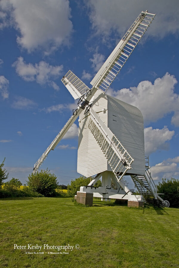 Chillenden Windmill - Up Close