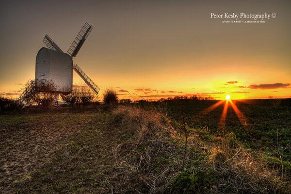 Chillenden Windmill - Sunset - #4