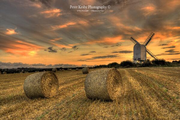 Chillenden Windmill - Sunset - #3