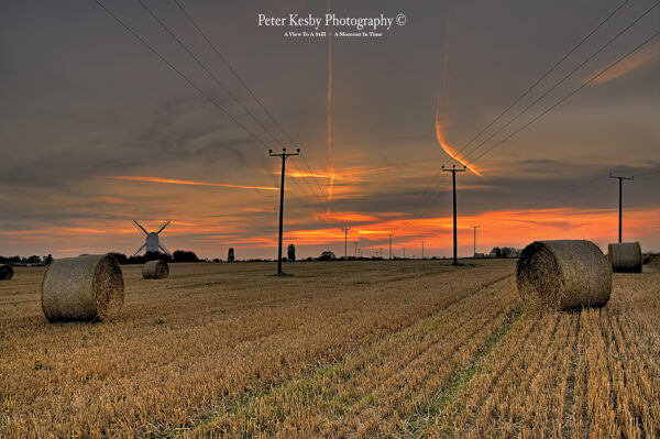 Chillenden Windmill - Sunset - #2