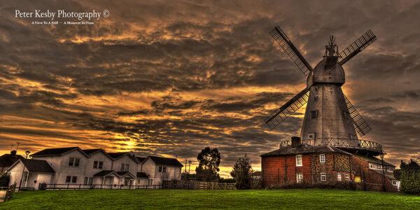 Willesborough Windmill - Sunset