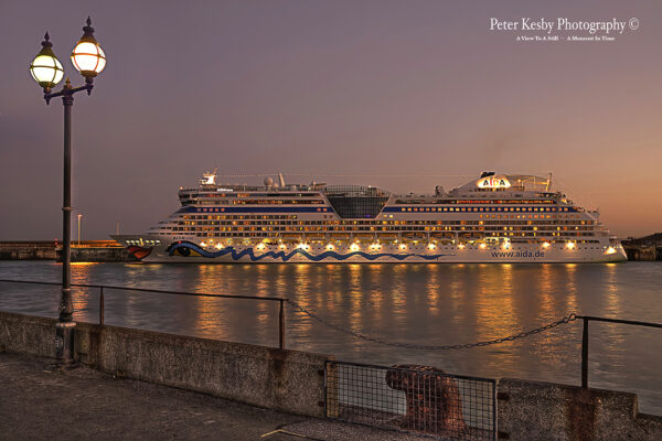 Aida Luna At Sunset - #1