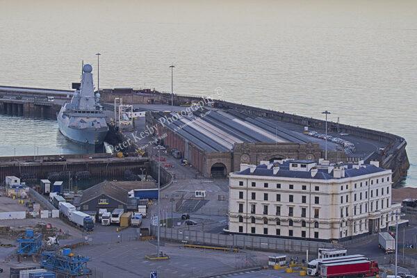 HMS Diamond - Dover Western Docks