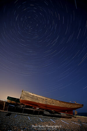Fishing Boats - Star Trails